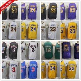 Youth Kids Mens Retro Basketball 3 Allen Boys Iverson Jerseys Cheap Adult 12 Ja Children Morant Top Quality Basketball Jersey
