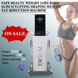 2021 latest EMslim machine HI-EMT sculpt shaping EMS electromagnetic Muscle Stimulation fat burning hiemt beauty equipment (QEM LOGO) on Sale