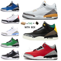 ingrosso top giochi-air jordan jordans aj3 s jordon jordons men women fearless pink chicago obsidian mocha satin digital retro shoes s mens Jumpman basketball