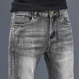 2021 tasarımcı kot erkekler pamuk ince elastik pantolon moda klasik tarzı kot 4 renkler