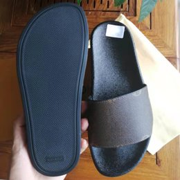 Woman Man Sandals Slippers Shoes slipper High Quality Sandal Casual Shoe Flat Slide Eu:35-45 With box 01 on Sale
