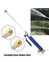 Azul de água de alta pressão NewCar 46cm Jet Jet Garden Lavadora Mangueira Wand Bocal Pulverizador Spray Sprinkler Ferramenta de Limpeza Ewe7458 em Promoção