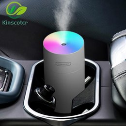 keyboard cool UK - Kinscoter Air Humidifier Household Aroma Diffuser Essential Oils USB Cool Mist Sprayer With Colorful Night Light For Car 2021 Humidifiers