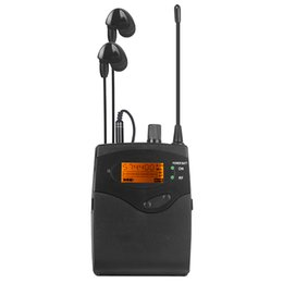 Wholesale SR2050 IEN 1 receiver Stereo Monitor Receiver Bodypack With Earphone For In-Ear Monitor Wireless System Professional Stage Good quality