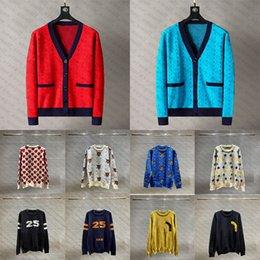クラシックデザイナーGUセーター男性女性シニアクラシックレジャー多色秋冬暖かい快適な高品質2021新しいホット刺繍サイズS-3XL