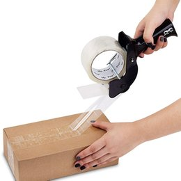Vente en gros 5,5 cm ruban transparent grand rouleau imperméable petit paquet rapide joint simple côté boîte entier en gros