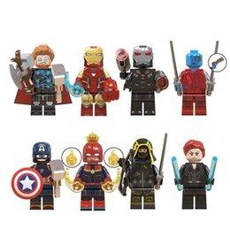 Опт Мини Минифиг мультфильм кирпичные строительные блоки подарок детские игрушки