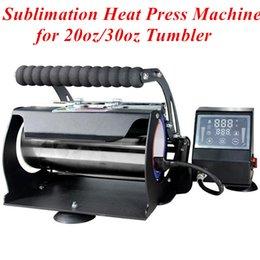 Großhandel Sublimationsmaschine Wärmepressemaschine für 20z 30 Unzen Gerade Tumbler Hitze Pressdrucker für Becher Sublimation Wärmeübertragungsmaschine