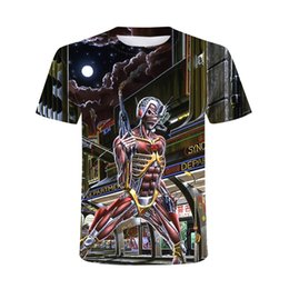 Wholesale heavy metal t shirt resale online - 2021 New D Heavy Metal Skull T shirt Punk Festival Rock T Shirt Men Printed Casual Tshirt O Neck Hip Hop Short Sleeve Plus Sizesoccer jerse
