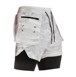 Mens Curta Calça Stretch Stretch Fitness Ginásio Treinamento Shorts Moda Chegada Calças Asiática Branco Preto Green Grey Size M-3XL em Promoção