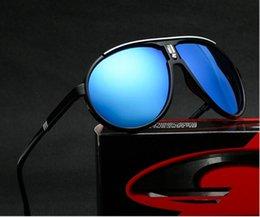 Toptan satış Marka Carrera Güneş Erkekler Kadınlar Vintage Retro Spor Sürüş Güneş Büyük Çerçeve Renkli Açık Gözlük Gözlük UV400 C138Designer Lüks