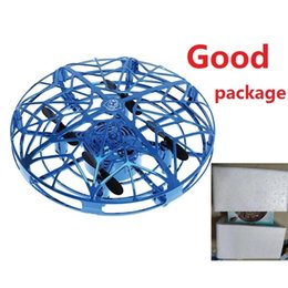 Wholesale VIP link drop ship UFO Anti-collision Flying Helicopter Magic Hand UFO Aircraft Sensing Mini Induction Drone Kids Electronic Toy 210325