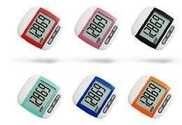 LCD Pedometre Yürüyüş Klip Taşınabilir Adım Sayaç Adımları ve Mil Kalori Erkek Kadın Çocuklar Spor Koşu