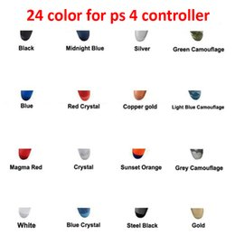 Wholesale 24 Colors Wireless Bluetooth Controller for PS4 Vibration Joystick Gamepad Game Play Station With Retail Box In Stock