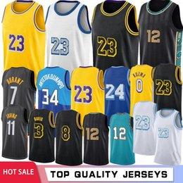 Ja 12 Morant Los 23 Angeles Basketball Jerseys Anthony 3 Davis Kyle 0 Kuzma 34 8 32 2021 Stock Retro Mesh 7 Kevin Kyrie 11 Durant Hot Irving on Sale