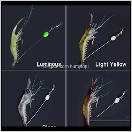 big fishing soft lure Australia - 90mm 7g Soft Simulation Prawn Shrimp Fishing Floating Shaped Lure Hook Bait Bionic Artificial Shrimp Lures With H jllqws humytop1