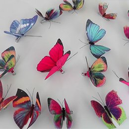 butterfly models 2021 - Creative fabric butterfly brooch fittings cross-border explosion models brooch customized origin supply pure handmade custom