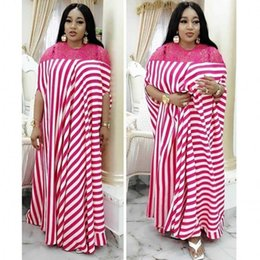 long african traditional dresses UK - dresses For Women Dashiki Summer Plus Size Dress Ladies Traditional African Clothing Fairy Dreams