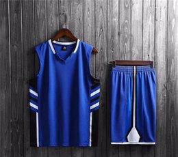 Wholesale 5xl basketball uniforms for sale - Group buy 2020 Sport Shirt New Style Basketball Uniform Sets Sports Jersey For Men