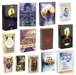 Styles Tarots game Witch Rider Smith Waite Shadowscapes Wild Tarot Deck Board Cards with Colorful Box English Version on Sale