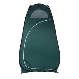 Портативный открытый всплывающий туалет для туалета подходящая комната конфиденциальность укрытия палатка армии зеленый на Распродаже