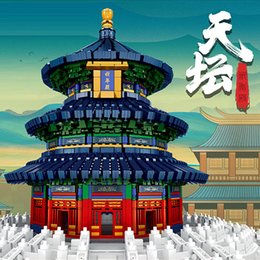 DIY New Arrival Mould King 5532PCS Temple of Heaven building toys compatible with all major brand legoing toys for kids on Sale