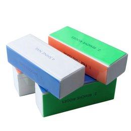 Vosaidi 10pcs Nail files Nail Art Shiner Buffer 4 Ways Polish Sanding File Block Manicure Product on Sale