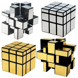 3x3x3 Magic Mirror Cubes Cast Coated Puzzle Professional Speed Cube Education Toys For Children on Sale