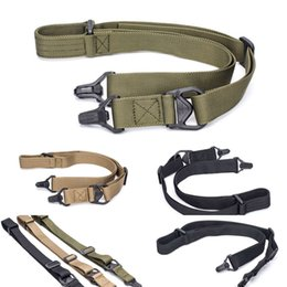 Wholesale guns safety resale online - tactics army Outdoor guard training fan safety pistol multifunctional gun spring elastic ring belt hanging rope