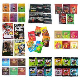 Toptan satış Trollis Trillis Baribo Brownie Isırıklar Doweedos Maddibuls Cheetos Çerezler Runtz Mylar Çanta Paketi 600 mg 500 mg Çocuk Geçirmez Koku Paketleme Çanta Kuru Herb Çiçekler için