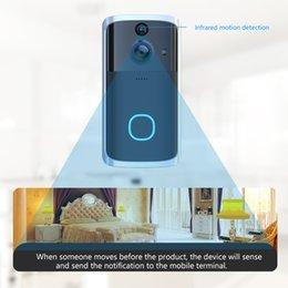 H7 WiFi Smart Doorbell Video Intercom Security Cámara de seguridad Campana Monitoreo remoto Alarma en venta