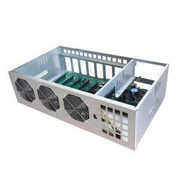 Wholesale mining rigs B85 55MM case 8GPU Miner ETH ETC Machine GPU Miners for Ethereum Crypto