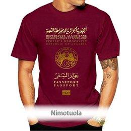 Algerian Republic PassPort Cover T Shirt Algerie Lovers Of Algeria Patriotic Passport(2) Men's T-Shirts