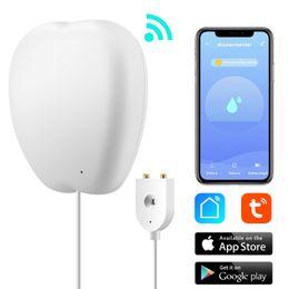 Home WiFi Détecteur d'eau Smart Fuite du capteur d'alarme Détecteur de fuite Sound Tuyasmart Smart Life App Bathtub Alerte Sécurité Sécurité en Solde