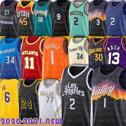 Los 23 Angeles Jersey Jersey Anthony 3 Davis Alex 4 Caruso LBJ Preto Mamba Talen 5 Horton-Tucker Jerseys Faculdade Juvenil Carmelo em Promoção