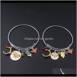 Discount wonder woman gifts Adjustable With Wonder Woman Badge Headband Charms Fashion Jewelry For Women Wonder Woman Bracelets Bangle Cuff Wristbans Jm002 7Yipv Fgce5