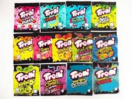 12 Тип Mylar Bag Trolli Trrlli Errlli Edibles Gummies Упаковка Запах Занятие Занятия Занятия Занятие на молнии 600 мг пользовательских логотипа Runtz на Распродаже