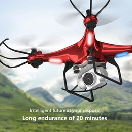 Wholesale NEW X52 Drone HD 1080PWifi transmission fpv quadcopter PTZ high pressure stable height Rc helicopter drone camera drones 210325