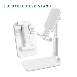 Desktop Tablet Stand For iPad Pro 11 2020 10.5 Air 3 10.2 Mini Adjustable Foldable Soporte Tablet Holder For iPad Stand on Sale
