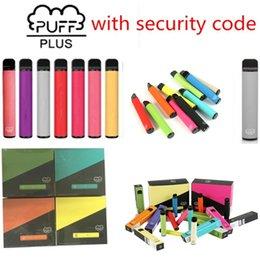Disposable Ecigarettes Vapes Electronic Cigarette 800 + Puff Bar Plus Enhet Vape 550mAh Batterilängar 800+ Puffs 3.2ml Pod Bang XXL 84Colors Inget underhåll