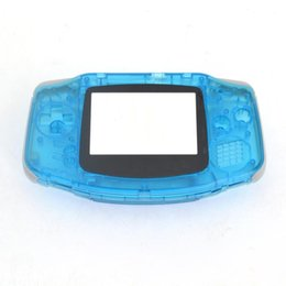 players,player,console,consoles top 10PCS For Advance Nintendo Plastic Shell Housing Screen GBA Luminous case Covergame game machine