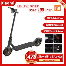 2021 Xiaomi Pro 2 Electric Scooter Portable and Foldable Lithium Battery Aluminum Alloy Frame.45KM range, 600W maximum motor power, on Sale