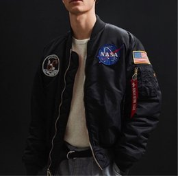 Discount alpha ma Add V to buy alpha MA-1 Apollo NASA men's autumn and winter cotton jacket