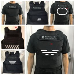INS Body Armor Tide Pattern Print Tactical Vests Outdoor Street Hip Hop Protective Vest for Women Men Simulated War Game Clothes on Sale