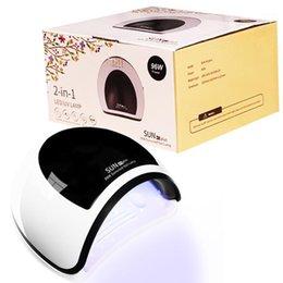 venda por atacado Luz de secador de cura rápida Curing Auto Sensor 96W UV 36led Nail Lâmpada para pregos Art Manicure LED Lamp1