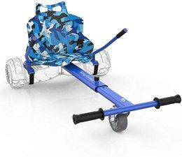 Аксессуары для самоката Аксессуары Hoverboard Go-Kart Вложение сиденья - Регулируемая длина кадров на белом фоне Аксессуар для детей / взрослых на Распродаже