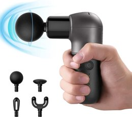 Mini Massage Gun Deep Tissue Muscle Massager Ergonomic Handle, USB Charging- at Home Gym Outdoors Gift for Friends&Family