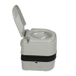 Опт 24L Portable Flush Travel Citching Туалет с двойным выходом для занятий на открытом воздухе