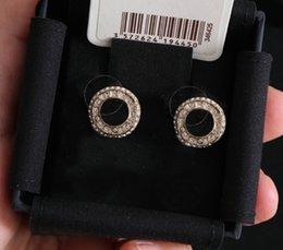 Großhandel Mode Charm Perle Gold Ohrstecker Aretes Orecchini Für Frauen Party Hochzeit Engagement Liebhaber Geschenk Schmuck mit Box HB327