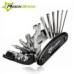 RockBros 16 в 1 многофункциональный велосипедный ремонт инструментов Наборы инструментов Hex говорят Велосипедная отвертка Инструменты MTB Горный велосипед Ремонтные аксессуары на Распродаже